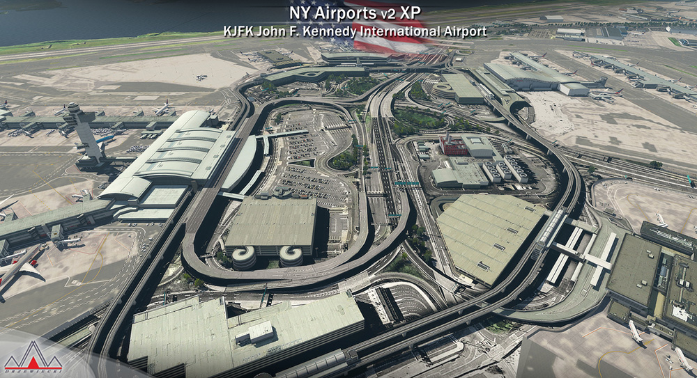 New York Airports V2 XP (KJFK, KLGA, KTEB)