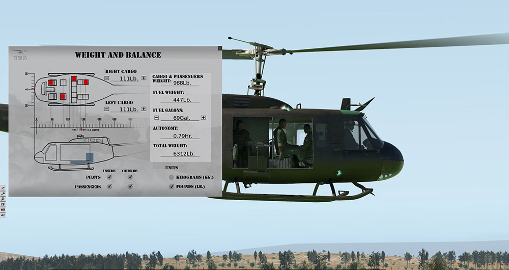 "Bell UH-1 ""Huey"" XP"