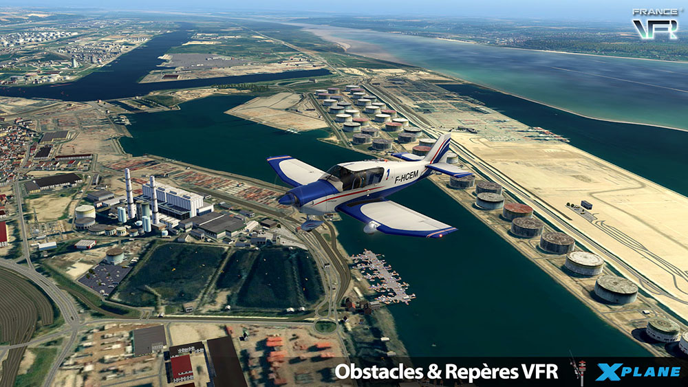 Obstacles & VFR Landmarks - FRANCE XP11
