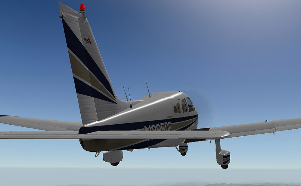 Carenado - PA28 Archer II (XP)