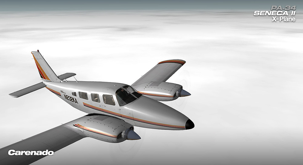 Carenado - PA34 200 T Seneca II (XP10)
