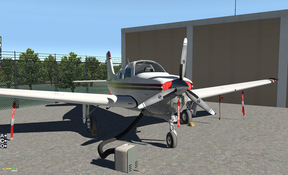 Reality Expansion Pack for Bonanza F33A (XP11)