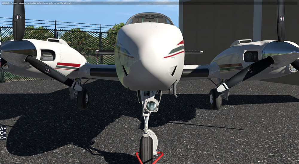 Reality Expansion Pack for Carenado B58 Baron (XP11)