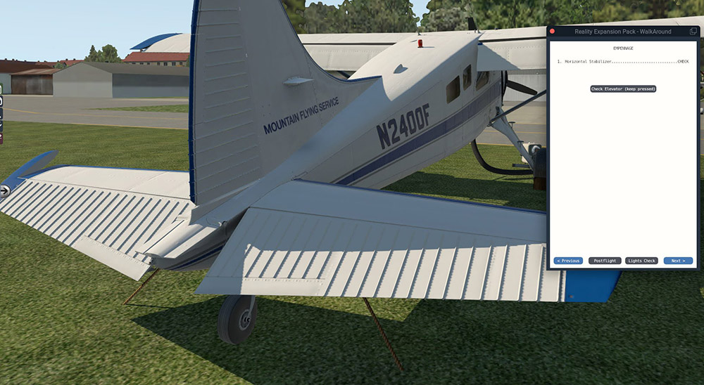 Reality Expansion Pack for DHC-2 Beaver - DGS Series XP