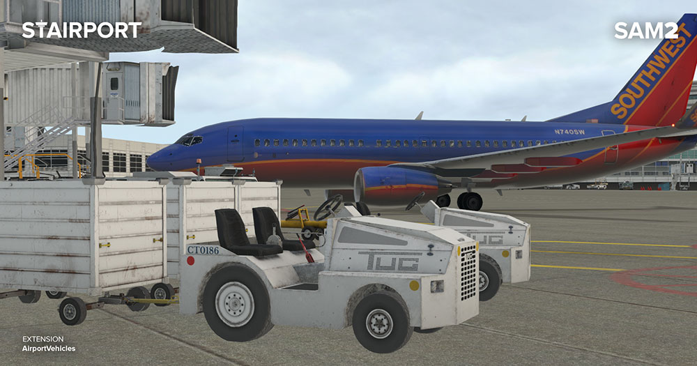 SAM AirportVehicles XP