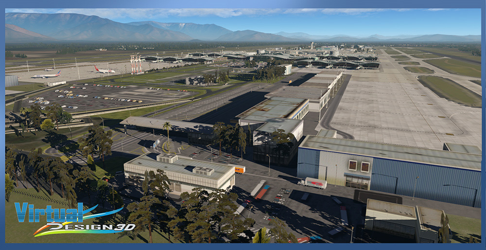 SCEL Intl. Airport & Santiago City 2020 XP