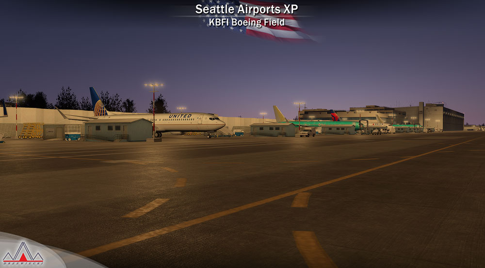 Seattle Airports XP