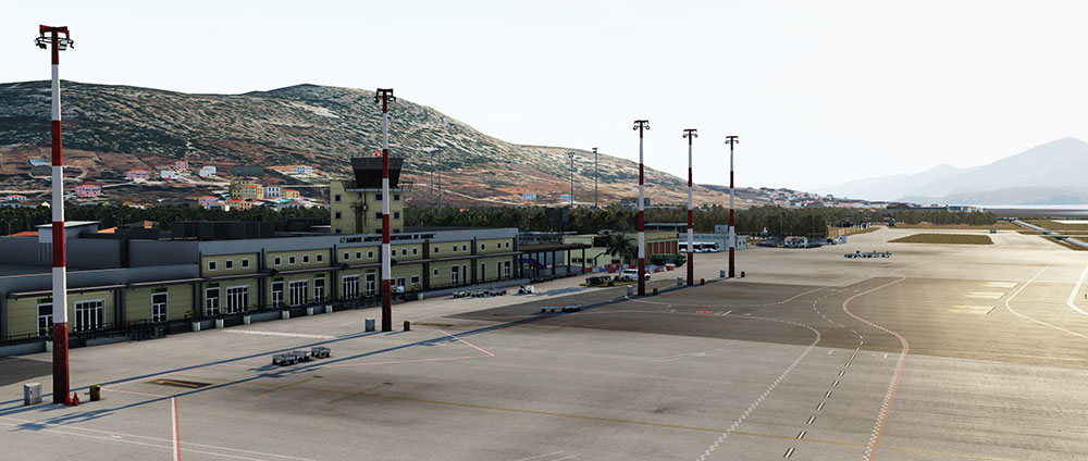 Skyline Simulations - LGSM - Samos International Airport XP