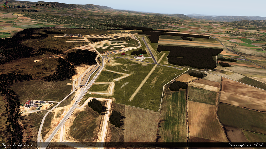 Spanish Airfields: Soria Garray XP