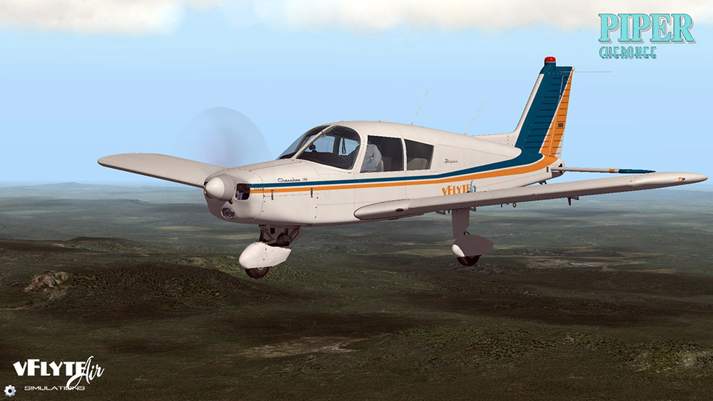 Piper Cherokee PA140 Glass Panel