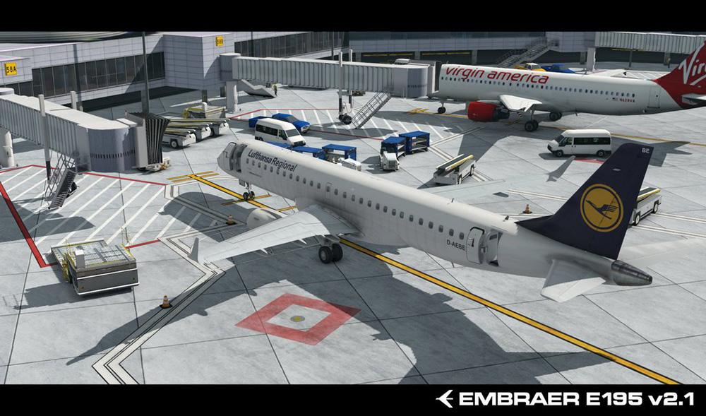 Embraer E-195 v2 | Aerosoft Shop